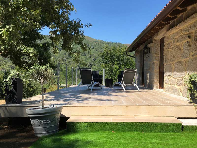 Un sitio perfecto para relajarse y disfrutar de las vistas en las tardes de Verano